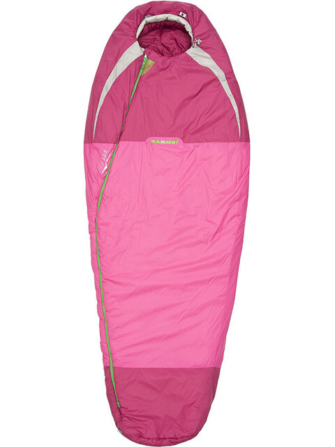 Mammut Kompakt MTI 3-Season Sleeping Bag Women 185cm pink-dark pink